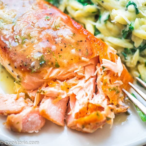 Lemon Butter Salmon