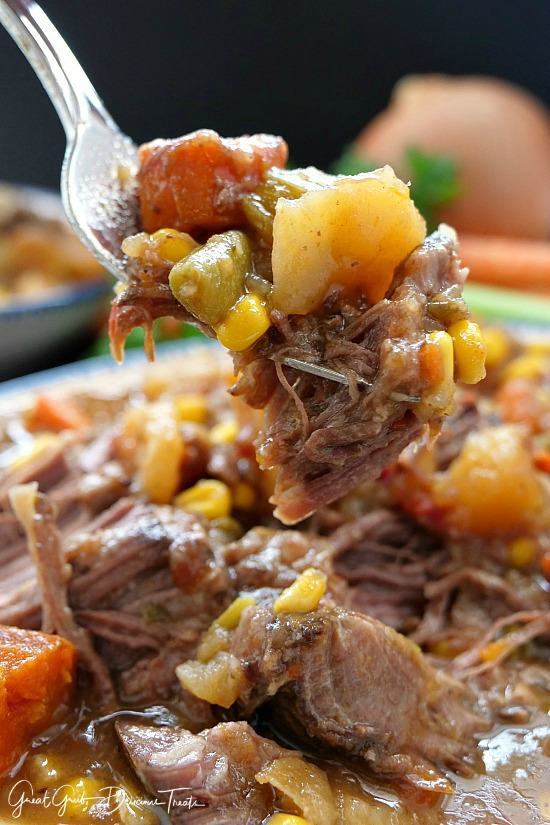 Slow Cooker Beef Shoulder Roast